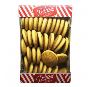 Печенье Деліція Кукурузное сдобное 1кг - Фото
