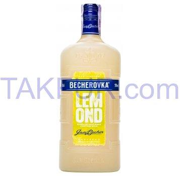 Настойка Becherovka Lemond ликерная на травах 20% 0,5л - Фото