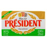 Масло President кисл сол 80% 200г - Фото