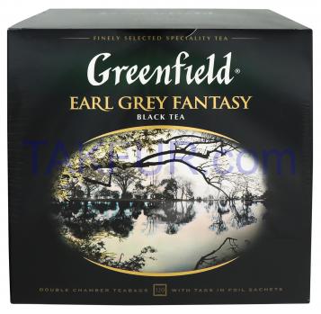 Чай Greenfield Earl Grey Fantasy черный 2г*120шт 240г - Фото