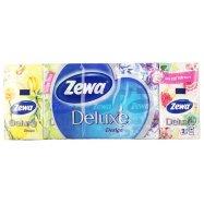 Платки носовые Zewa Deluxe 3 слоя 10шт - Фото