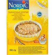 Пшеничные хлопья Nordic 600г - Фото