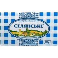 Масло Селян 72,5% слад/сл кр 200г Фото - 1